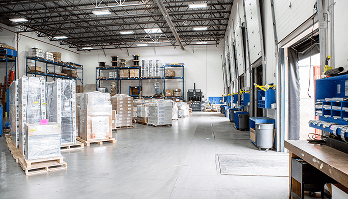 End-to-end services: Vendor Managed Inventory