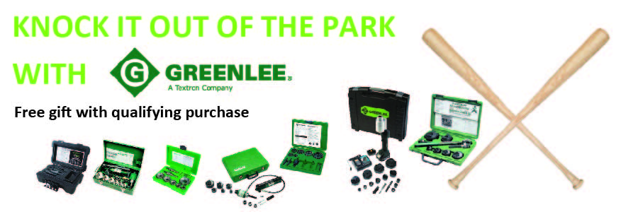 Greenlee Knock it out of the Park Promotion