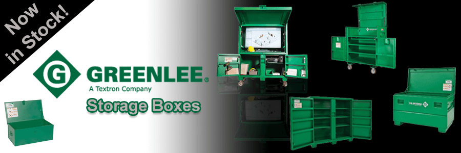 Greenlee Storage Boxes Cabinets