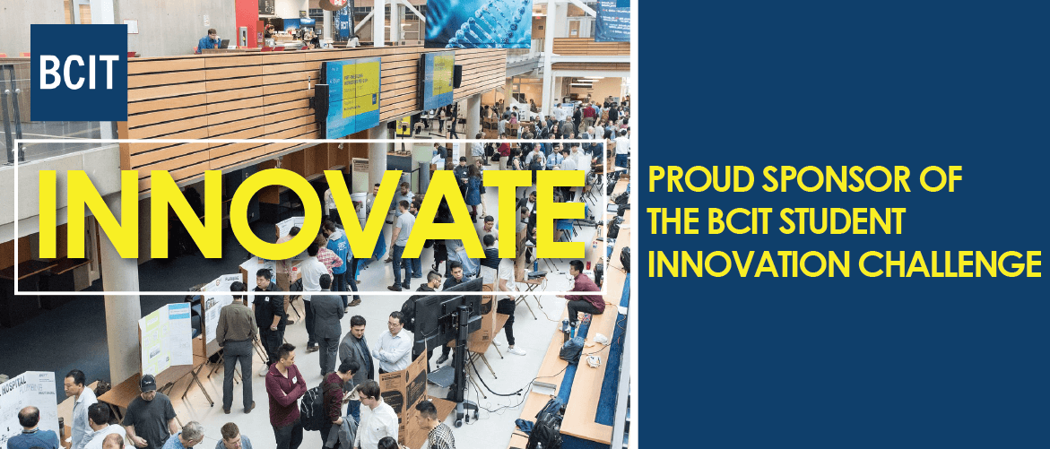 EBH Sponsor of the BCIT Innovation Challenge
