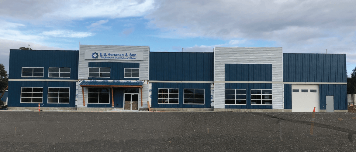 New Parksville Building