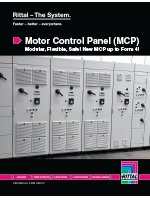 Rittal Motor Control Panel Solution