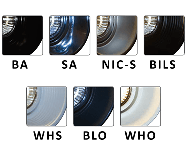 Reflector Finishes