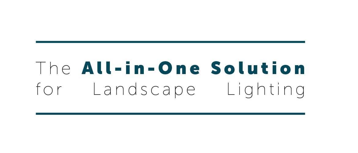 the all in one solution for landscape lighting