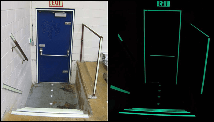 exit Sign & Path Markings