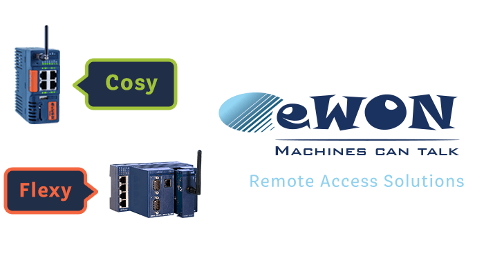 eWON for Remote Access Solutions