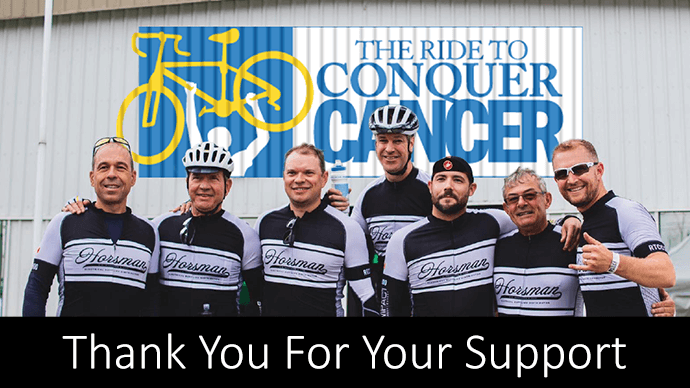 E.B. Horsman Ride to Conquer Cancer